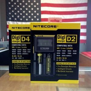 New Nitecore Battery Chargers